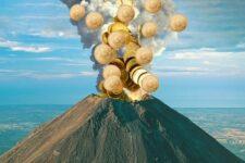 Страна, первой узаконившая биткоин, будет майнить криптовалюту с помощью вулканов