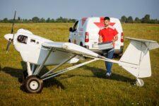 Новая почта осваивает авиадоставку: начались испытания пилотируемого грузового дрона