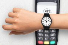 В Украине запускают новый сервис бесконтактных оплат SwatchPAY