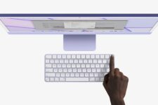 У продаж надійшла комп'ютерна клавіатура Apple з вбудованим сканером відбитка пальця