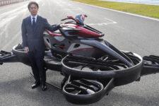 В Японии начат прием заказов на «летающий мотоцикл» Xturismo с двигателем от Kawasaki